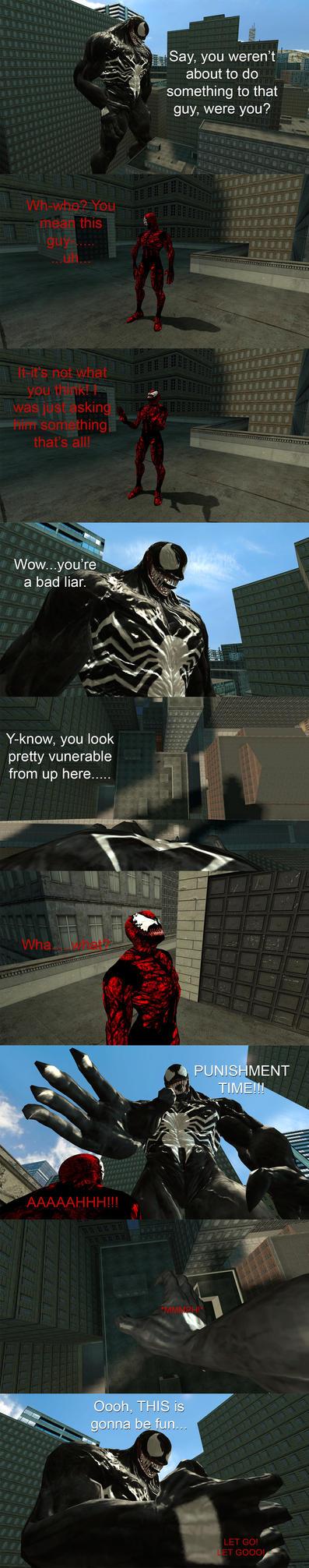 Spider-Man/Venom Growth Comic 18 by TitansCorner