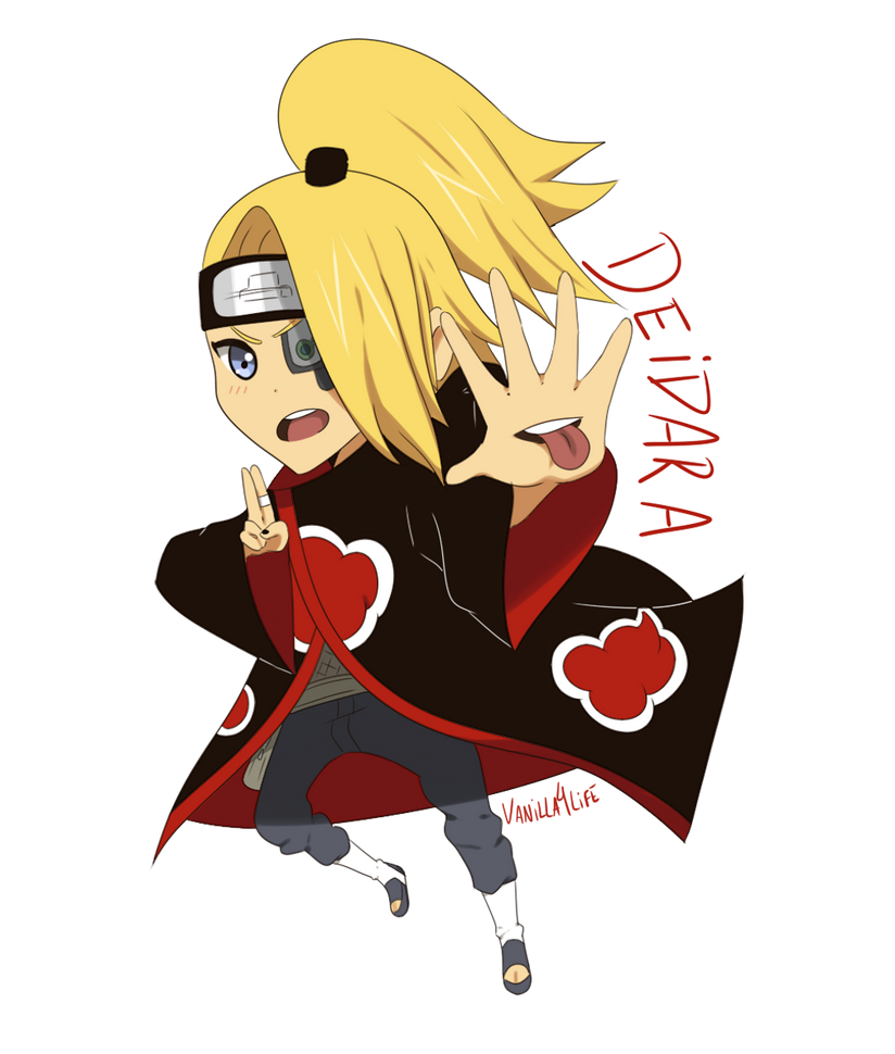 Chibi Deidara by vaniIIa-chan on DeviantArt Deidara Cute