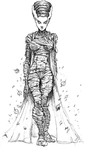 Bride of Frankenstein by PacoZarco