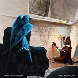 Inktober 15 - Mysterious by hannahmcgill