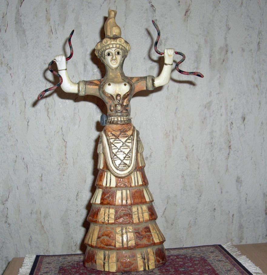 Minoan Goddess Ariadne by Malintra-Shadowmoon