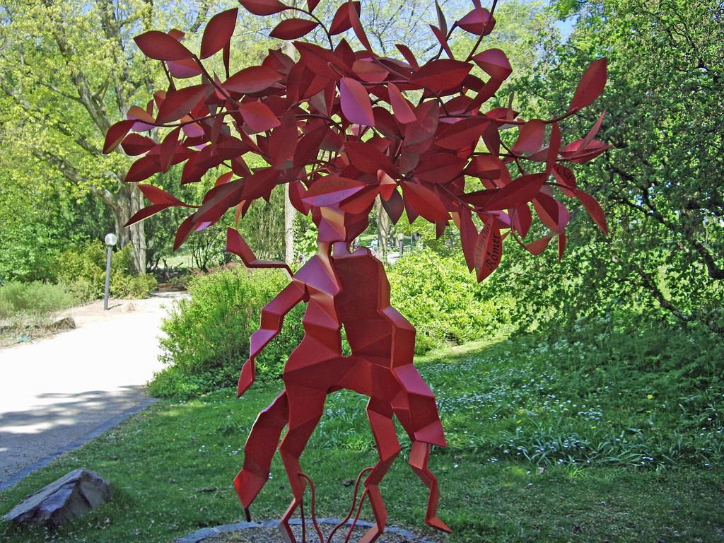 Red Tree Man by Malintra-Shadowmoon