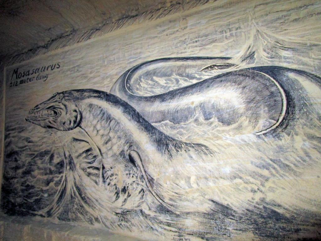 Mosasaurus (Marl Cave)