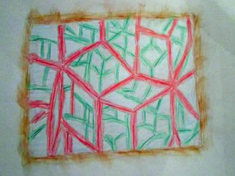 Christmas Cubism
