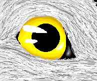 Wolf eye in MS paint by Kyuubi83256
