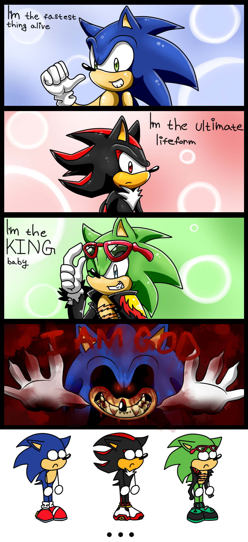 Sonic Stupid Mini Comic By Kyuubicore On Deviantart