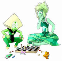 Peri and Emi serious battle