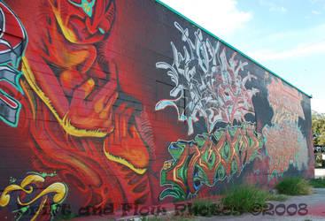 Colorized Art Wall by driftandflow