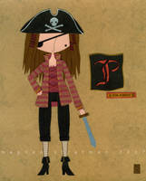 P is for Pirate by renton1313