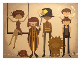 Sepia Circus by renton1313