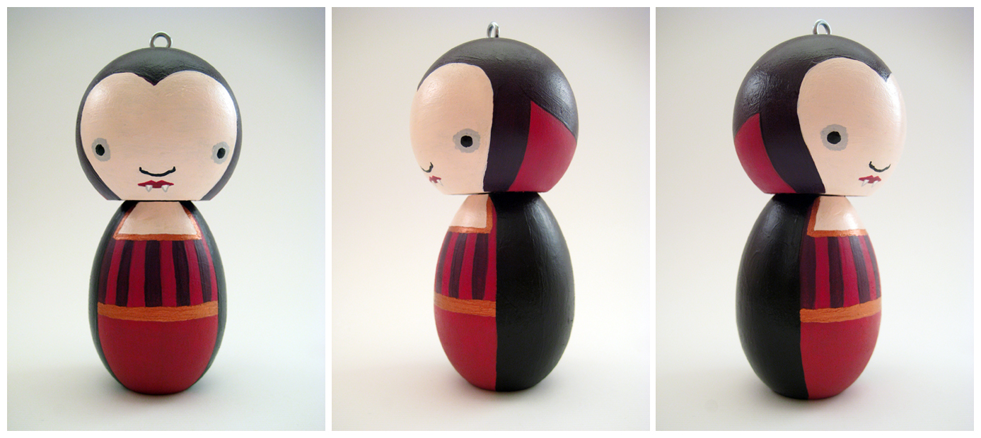 Vampire Ornament by renton1313