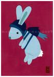 Rocket Bunny in Blue