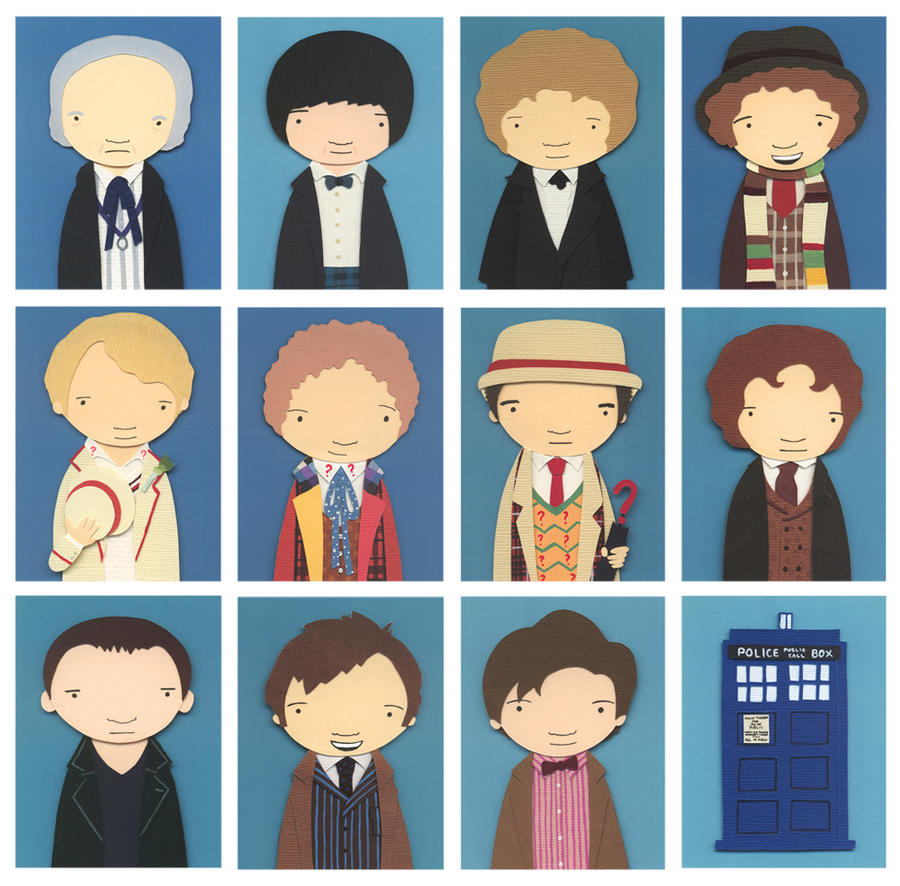 Nerd Love: Doctor Who by renton1313