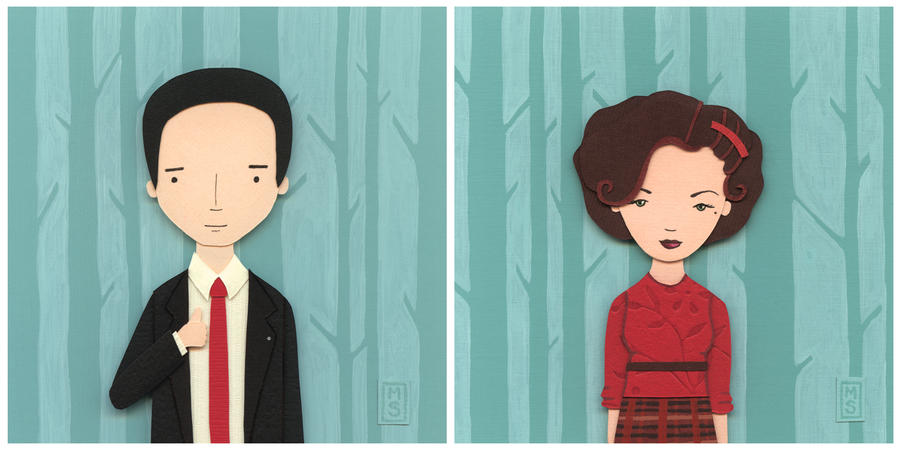 Nerd Love: Twin Peaks by renton1313