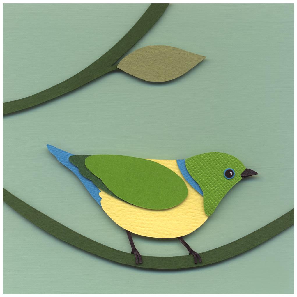 Green Bird by renton1313
