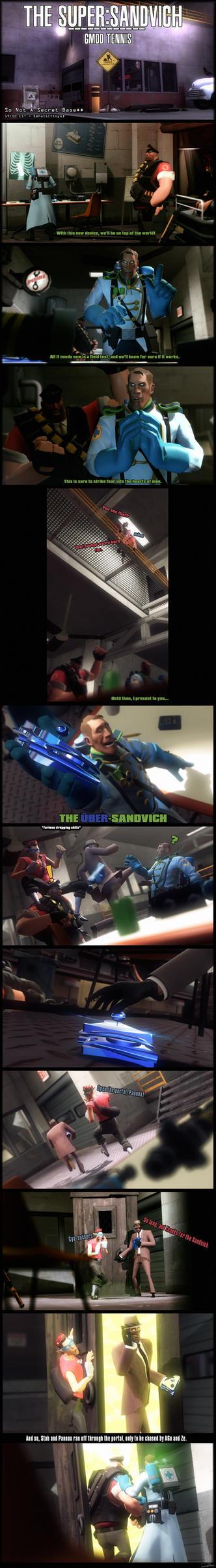 [GMOD TENNIS] The Super:Sandvich by ZeUberMedicSFM