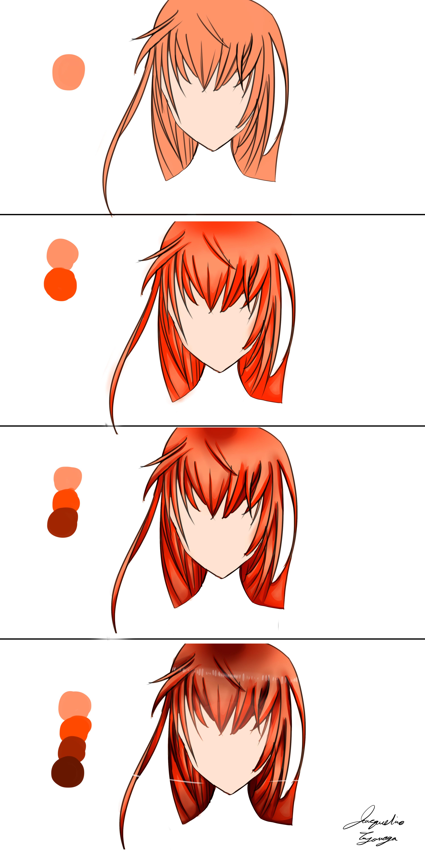 Anime Hair Tutorial Step By JMTart