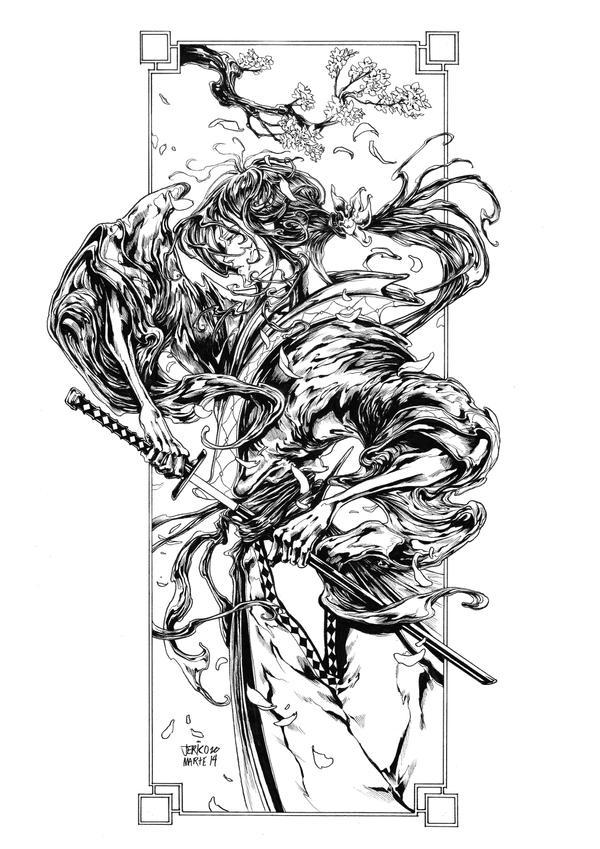 Kenshin Himura by JericoMarte