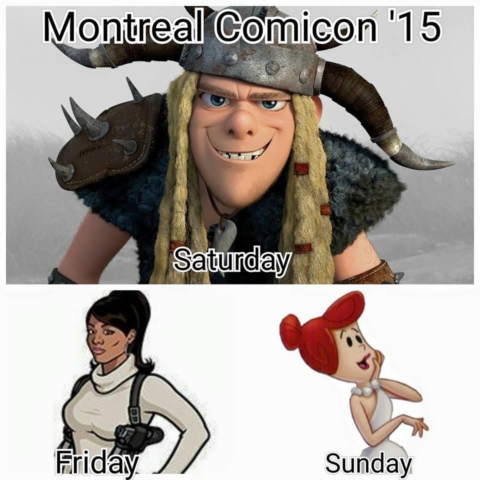 Montreal Comicon 2015 by rocknroler
