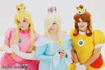 Peach, Rosalina and Daisy