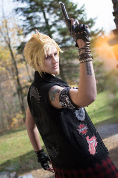 Never fear, Prompto's here!