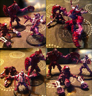 Broodlord, Carnifex and Biovore friends