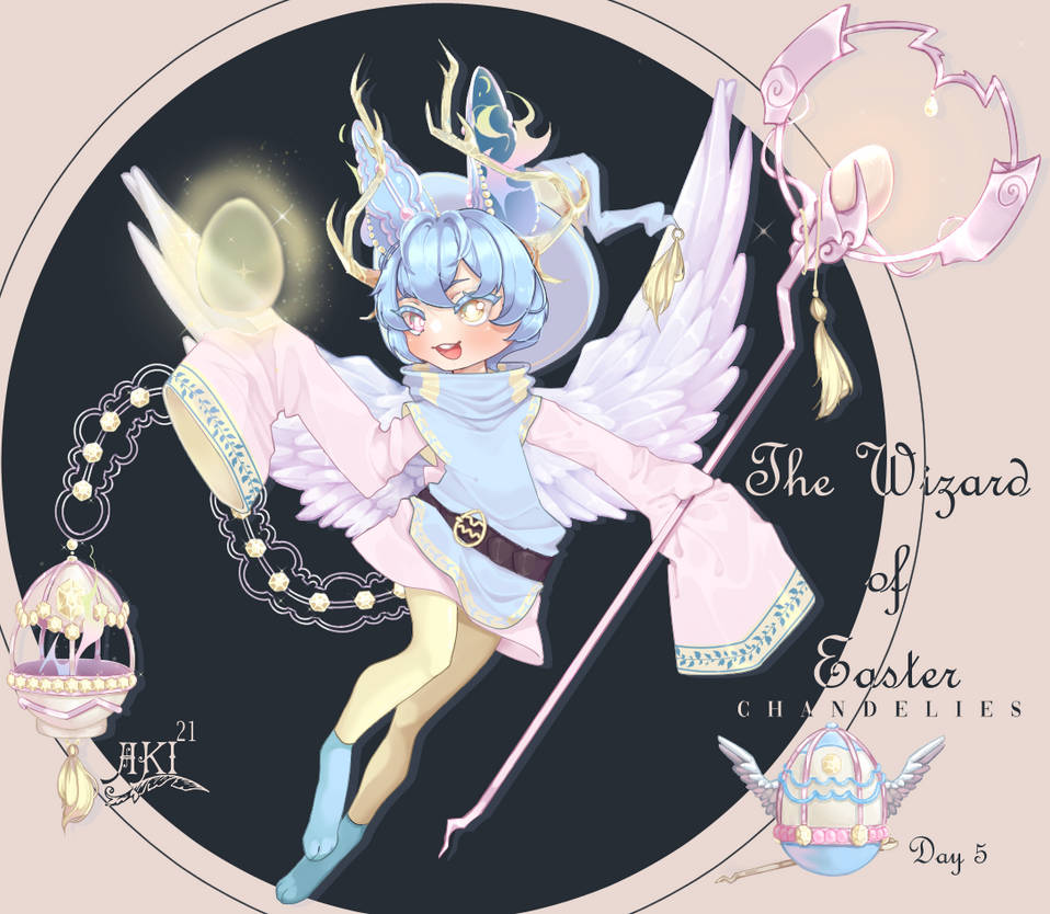 Closed. Wizard of Easter [ GA Chandelie Adopt ]