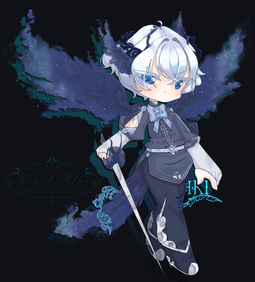 Open. Royal Blue [ GA Korudo Adopt ]