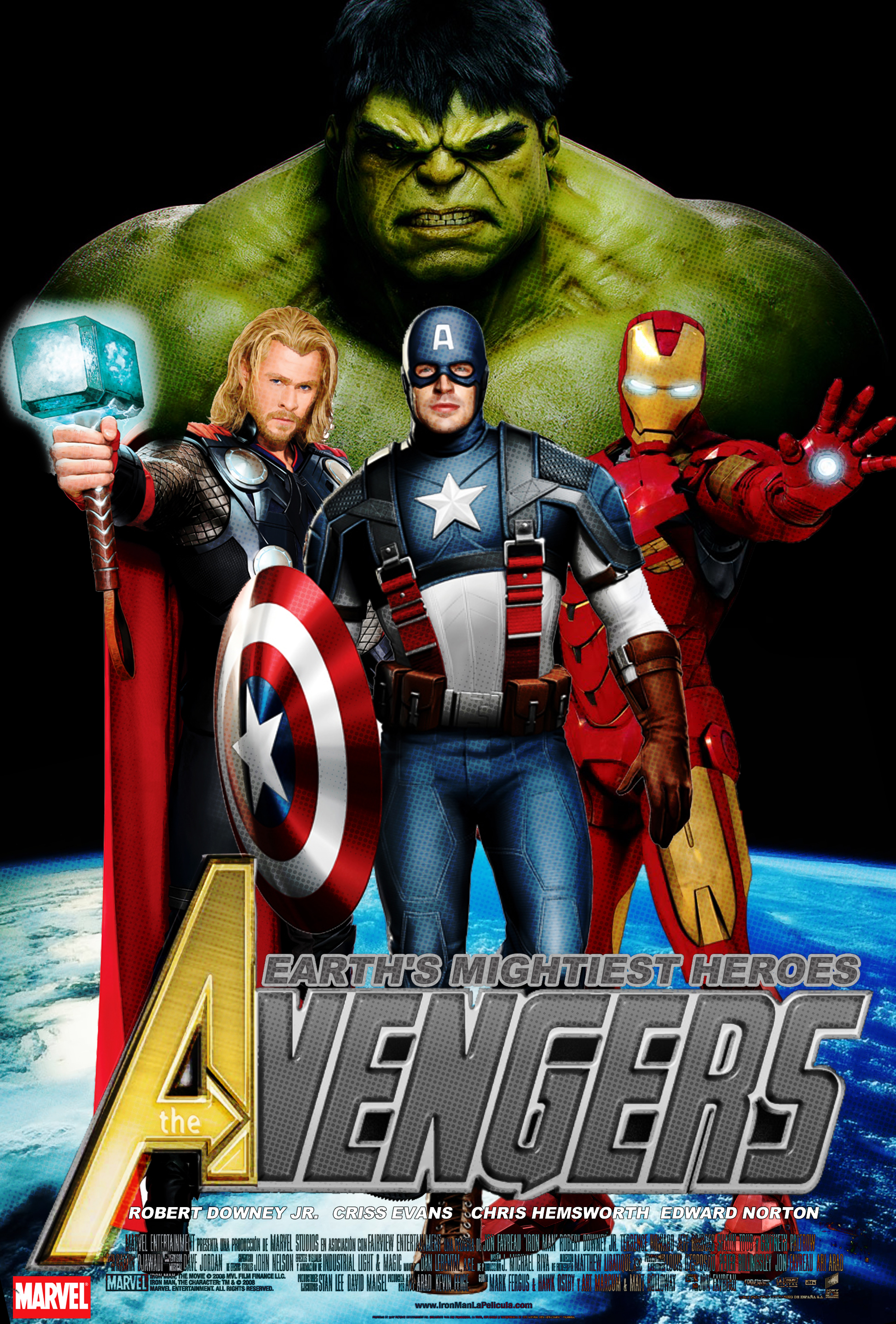 The Avengers Movie Poster by Alex4everdn on DeviantArt