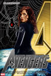 Poster Black Widow Avengers