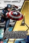 Poster Captain America Avenger