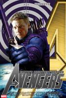 Poster HawkEye Avengers