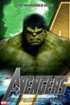 Poster Hulk The Avengers