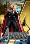 Poster Thor The Avengers