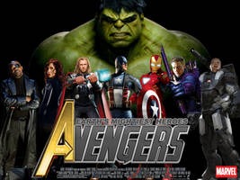 Wallpaper The Avengers Movie by Alex4everdn