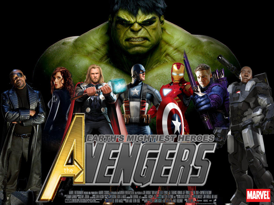 Wallpaper The Avengers Movie