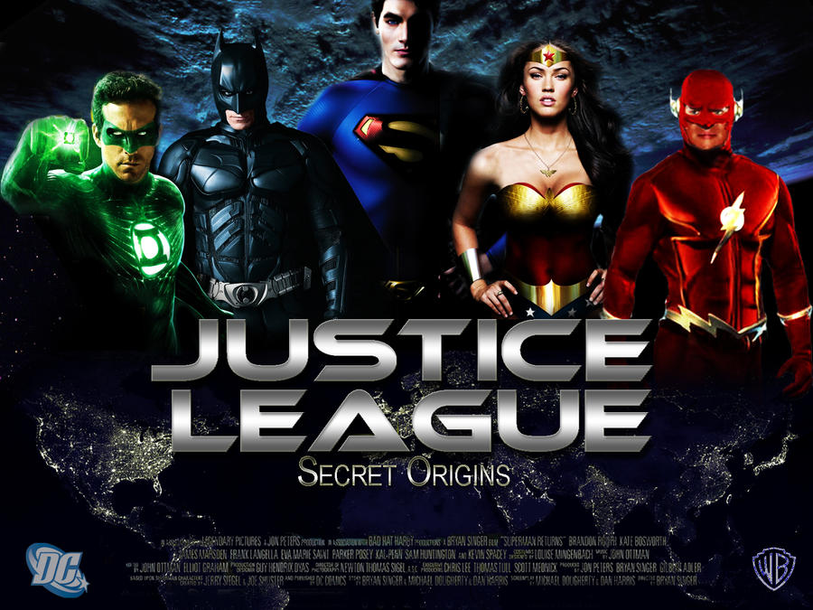 Justice League Movie 2015 Logo Justice League Movie Poster 3