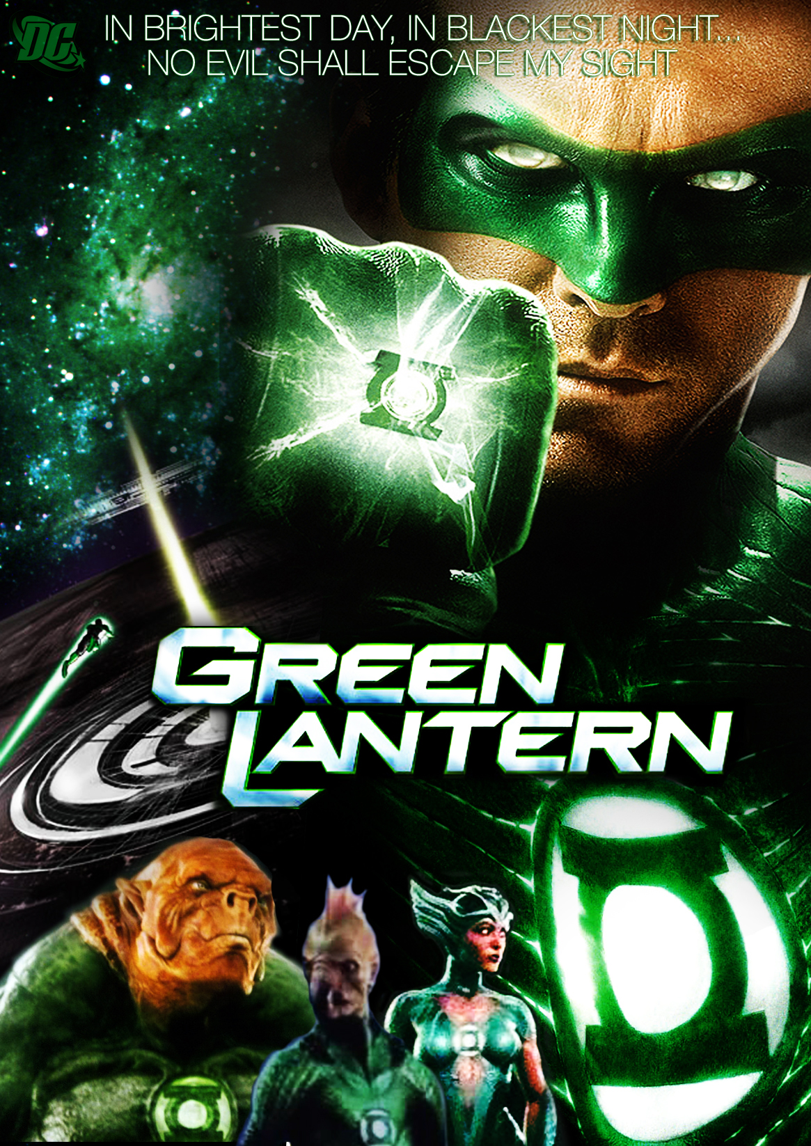 GREEN LANTERN MOVIE POSTER by Alex4everdn on DeviantArt Green Lantern Movie Poster