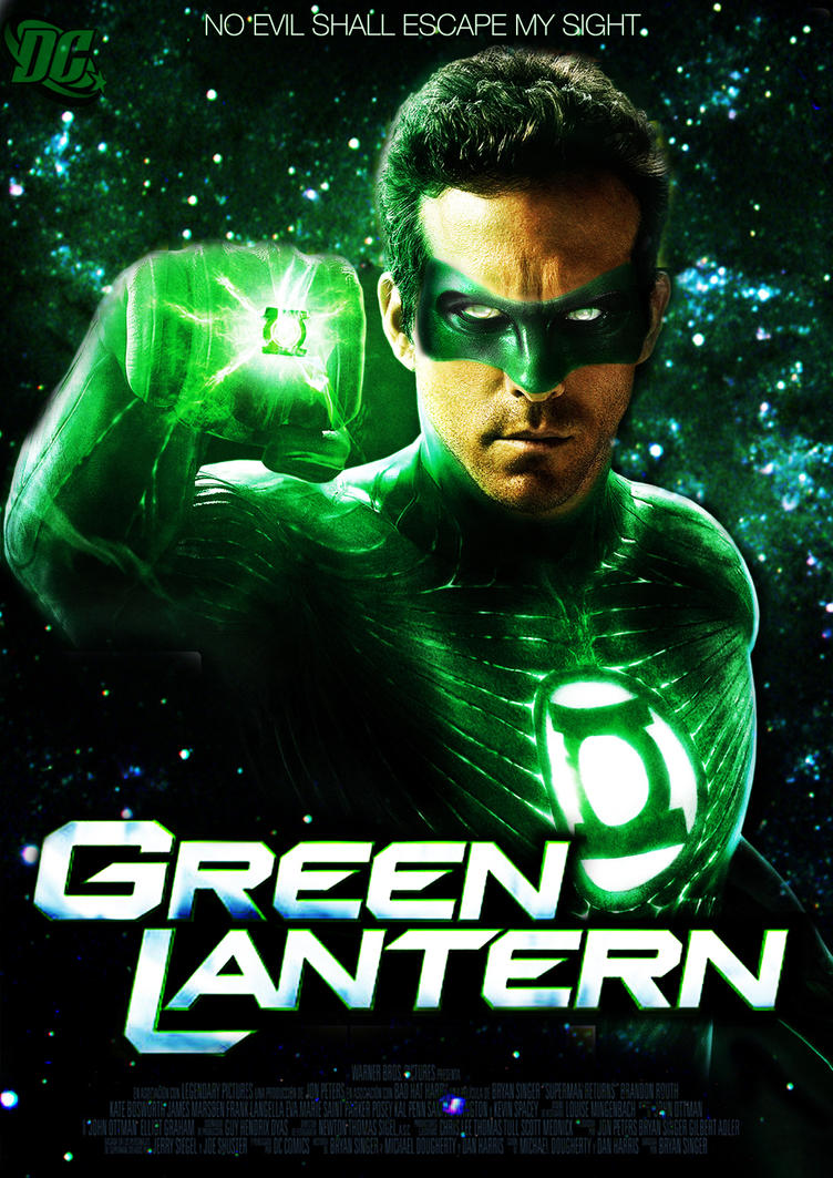 green lantern movie poster 2alex4everdn on deviantart
