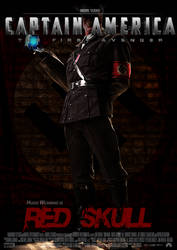 Poster Red Skull by Alex4everdn