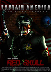 Poster Red Skull Ver. 2 by Alex4everdn