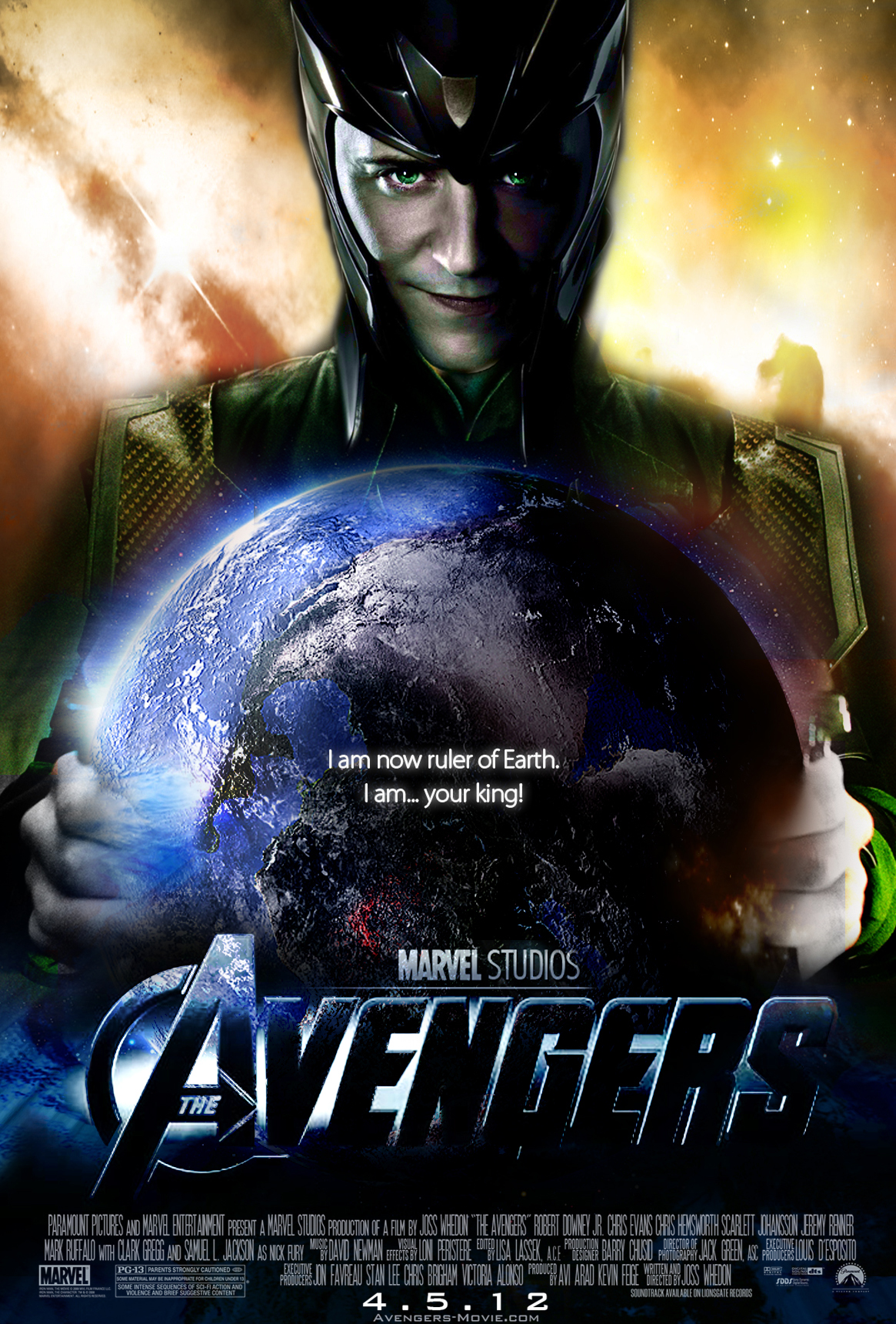 The Avengers Movie Poster Loki by Alex4everdn on DeviantArt