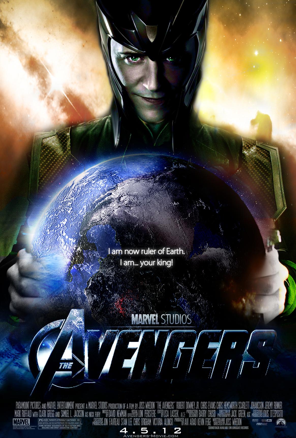 The Avengers Movie Poster Loki by Alex4everdn on DeviantArt