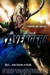 The Avengers Loki Poster 2