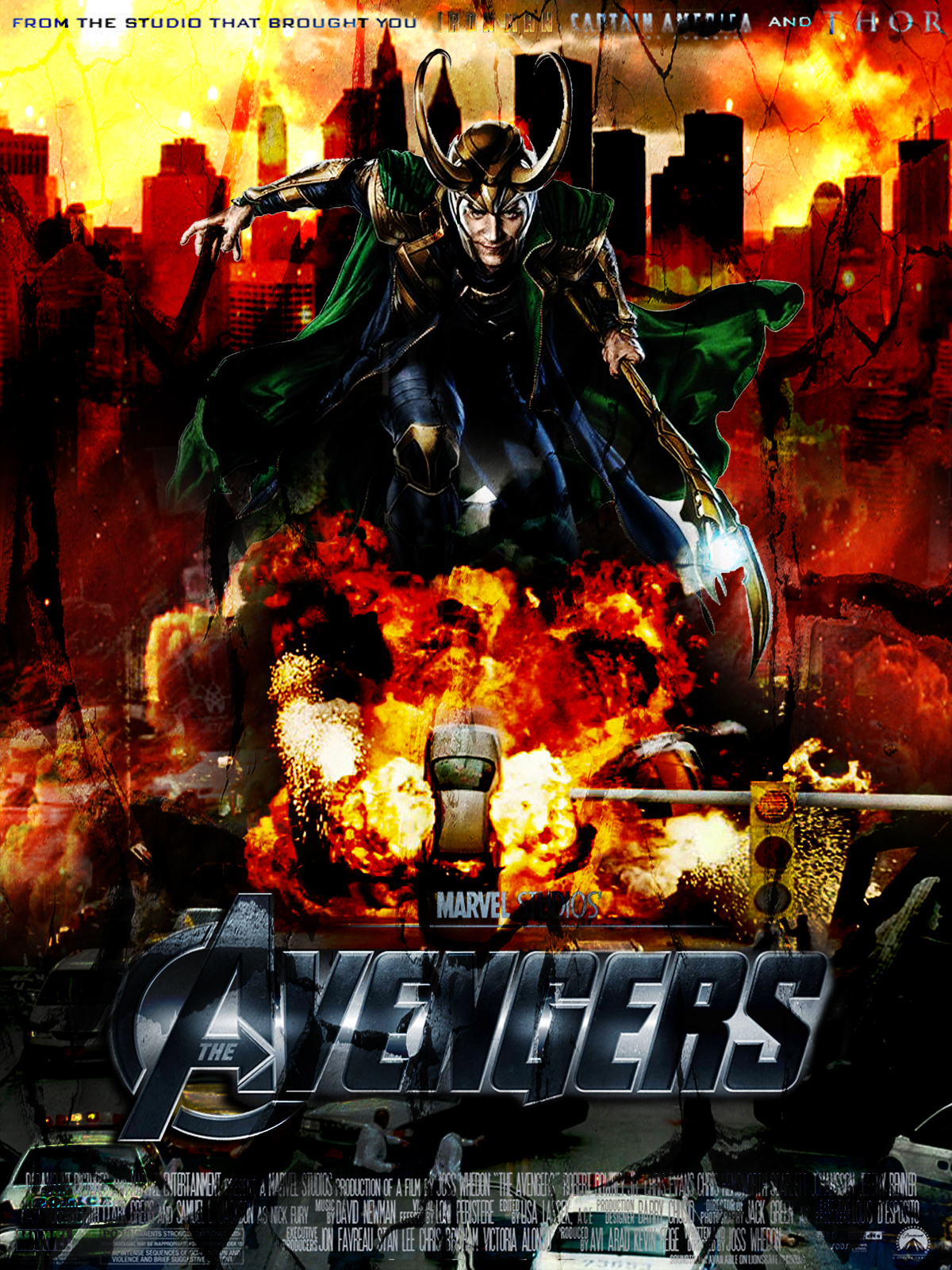 Movie Poster For Avengers
