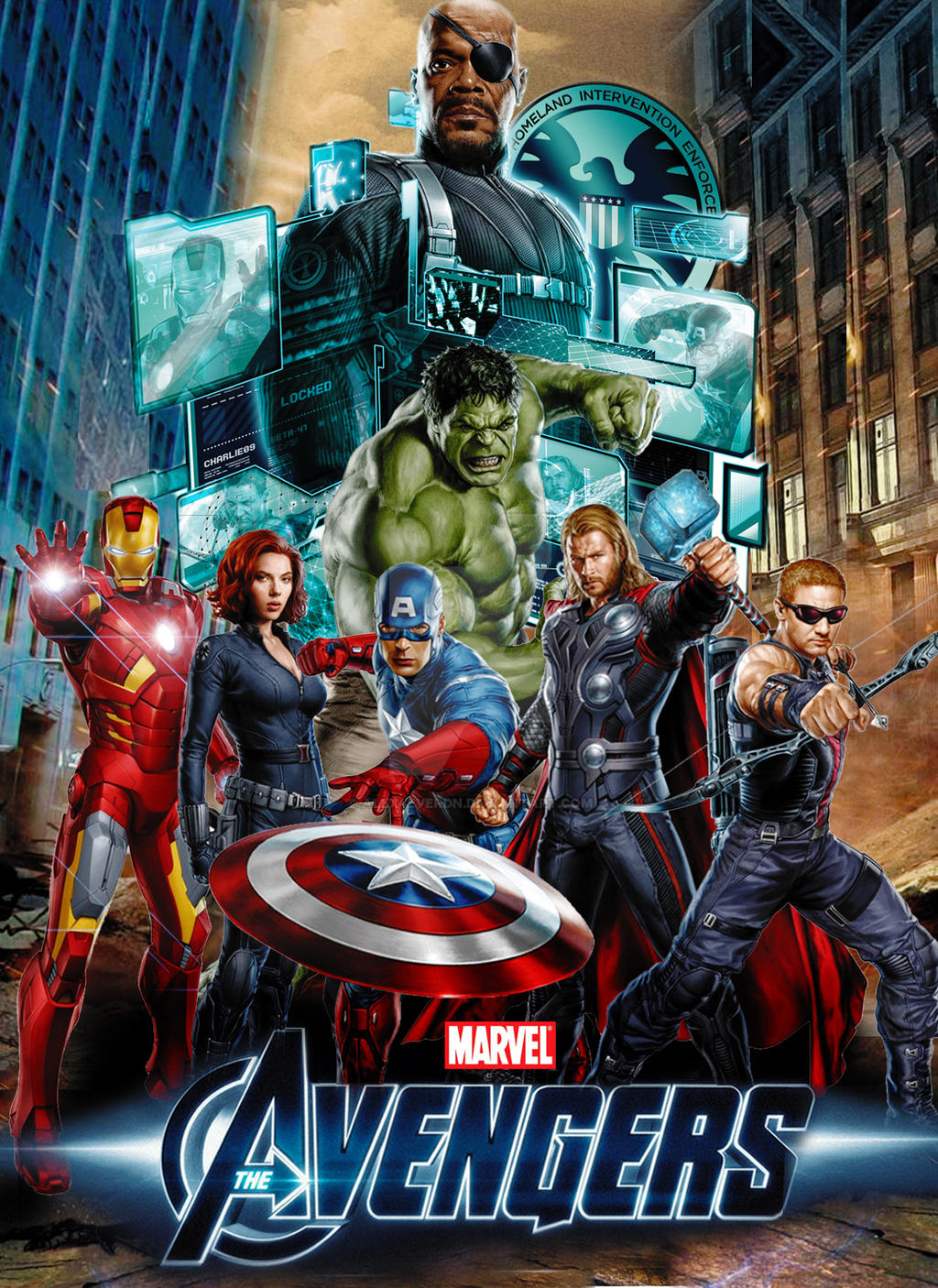 The Avengers Movie Poster Concept Art by Alex4everdn on ...