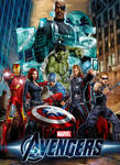 The Avengers Movie Poster Concept Art