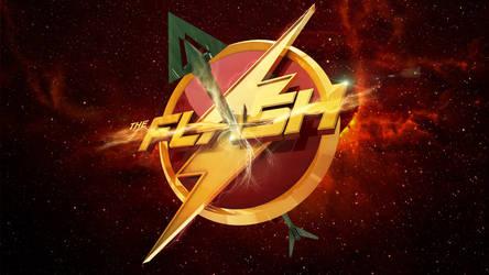 Flash Vs Arrow - Wallpaper by Alex4everdn