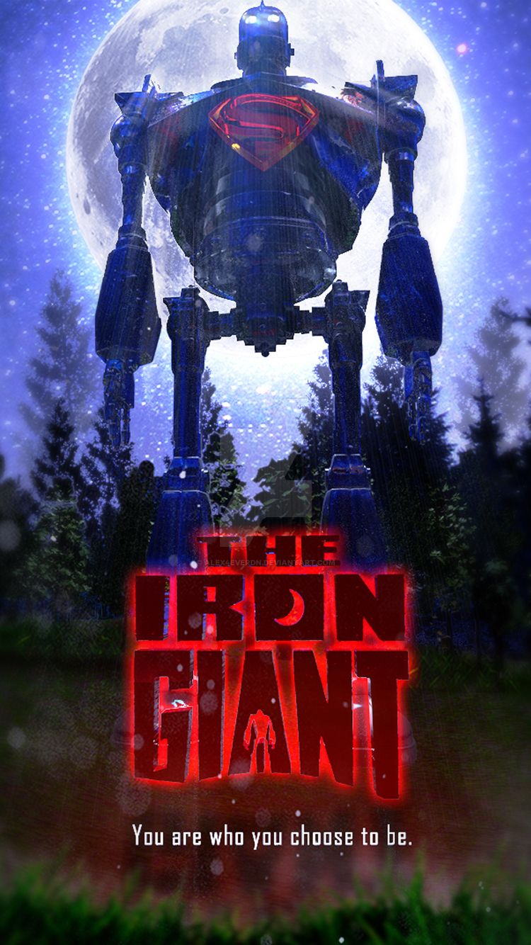 the iron giant iphone wallpaper by alex4everdn on deviantart