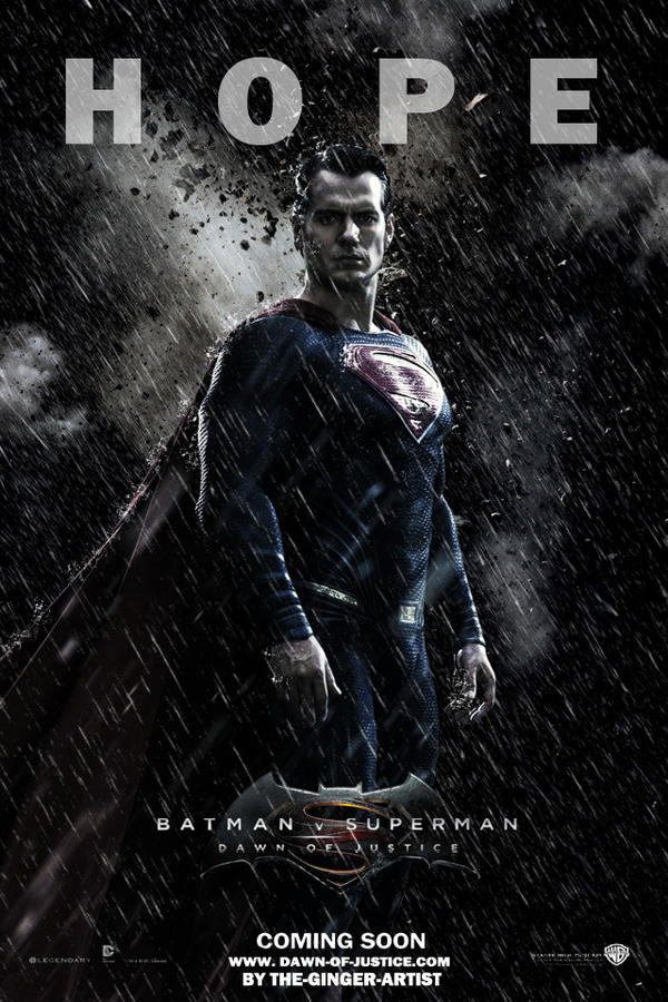 Dawn of justice Poster (Superman)
